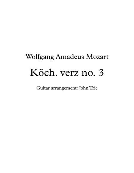 Köch. verz no. 3