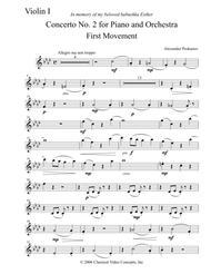 Concerto No. 2 (Ukrainian Concerto) - Orchestra Parts