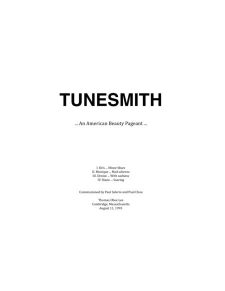 Tunesmith ... An American Beauty Pageant (1994) for violin and piano