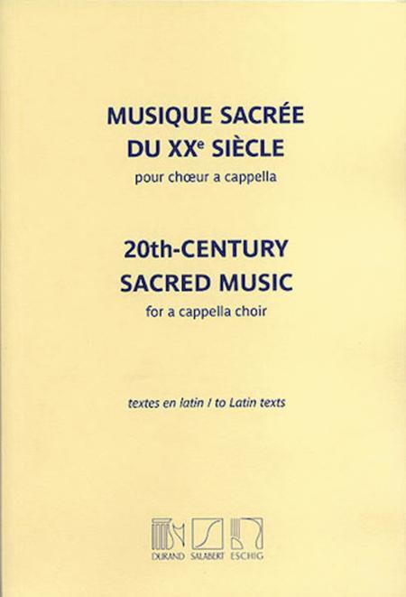 20th Century Sacred Music