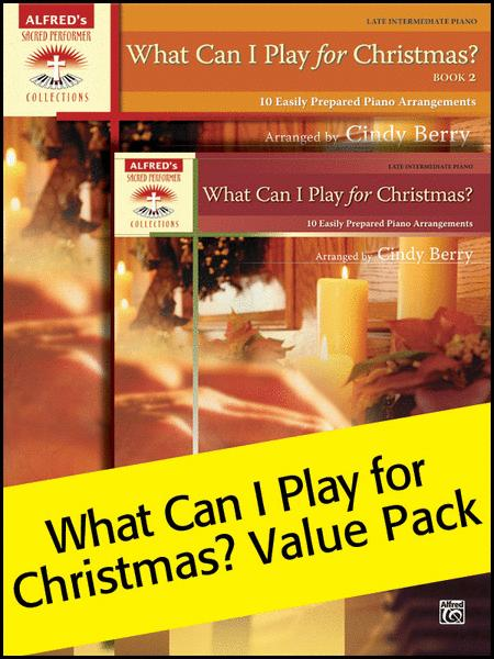 What Can I Play for Christmas, 1 & 2 (Value Pack)
