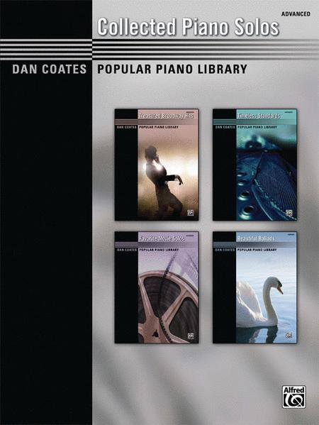 Dan Coates Popular Piano Library -- Collected Piano Solos