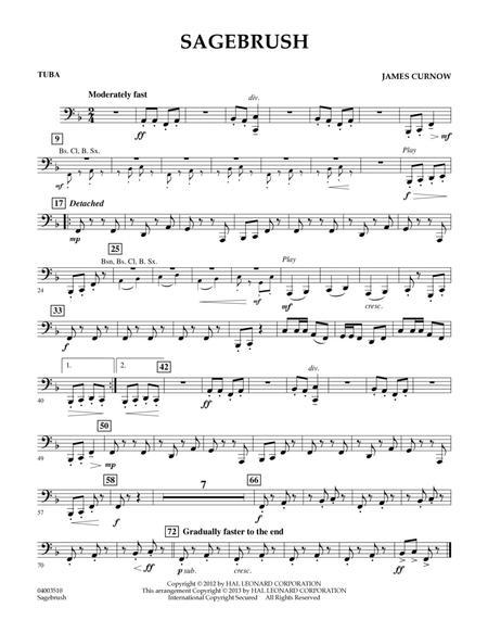 Sagebrush - Tuba