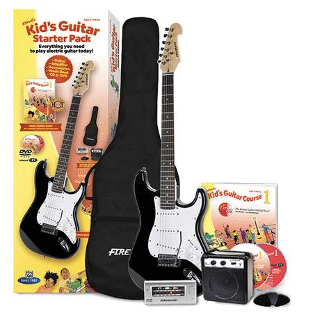 alfreds kids guitar starter pack electric edition everything you need to play electric guitar today starter pack kids guitar course