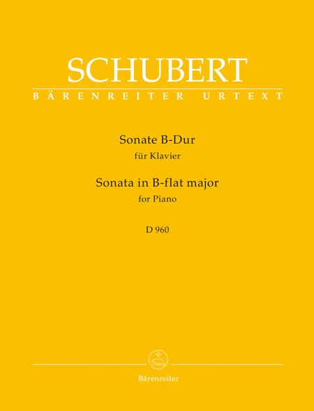 Sonate for Piano B-flat major D 960