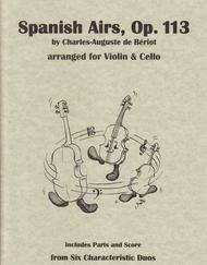 Spanish Airs, Op. 113