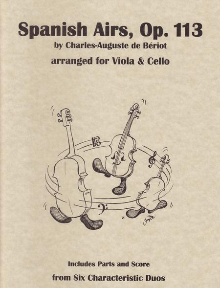 Spanish Airs, Op. 113
