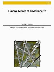 Funeral March of a Marionette for Flute Choir