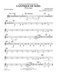 Cantique de Noel (O Holy Night) - Bb Bass Clarinet