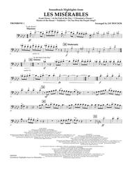 Soundtrack Highlights from Les Miserables - Trombone 1