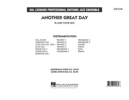 Another Great Day - Conductor Score (Full Score)