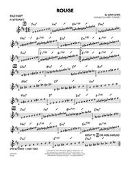 Rouge - Bb Solo Sheet