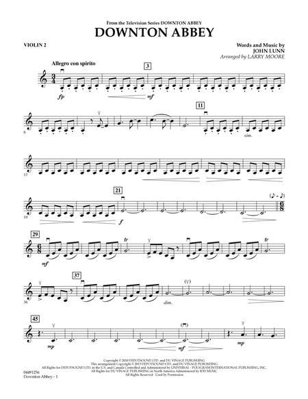 Downton Abbey - Violin 2