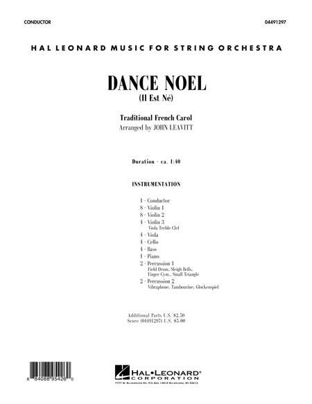 Dance Noel (Il Est Ne) - Conductor Score (Full Score)
