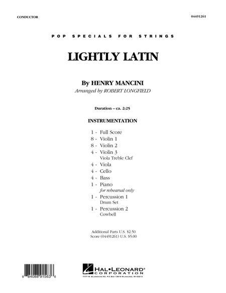 Lightly Latin - Conductor Score (Full Score)