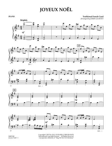 Joyeux Noel - Piano