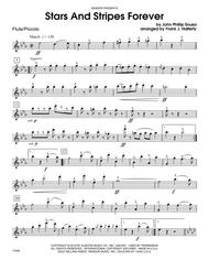 Stars and stripes forever: piano duet sheet music notes by john.