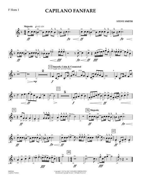 Capilano Fanfare (Digital Only) - F Horn 1