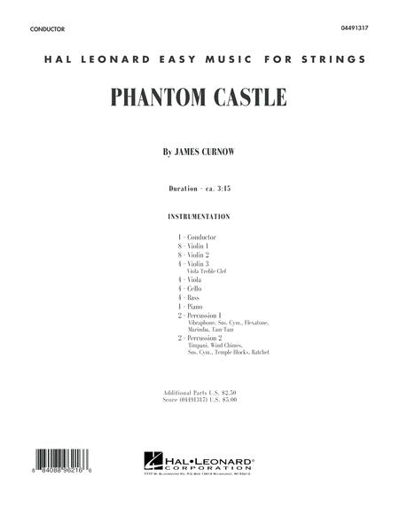Phantom Castle - Conductor Score (Full Score)