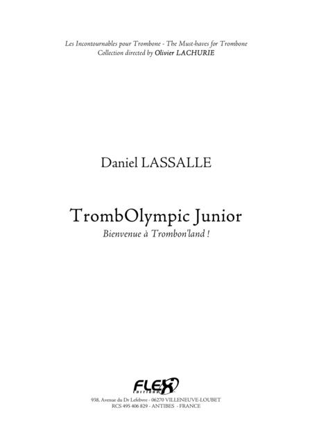 Method TrombOlympic Junior - Welcome to Trombon'land!