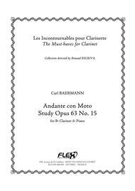 Andante con Moto - Study, Op. 63, No. 15