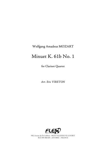 Minuet K. 61b No. 1
