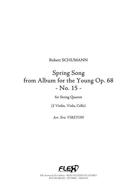 Spring Song - from Album for the Young, Op. 68, No. 15