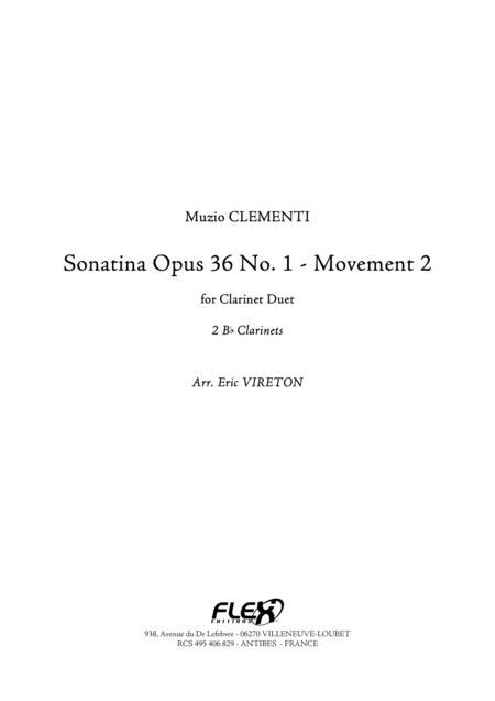 Sonatine Op 36, No. 1 - Movement 2