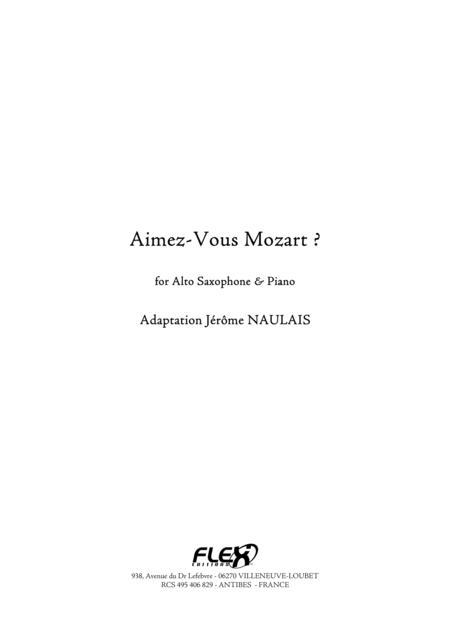 Aimez-Vous Mozart ?