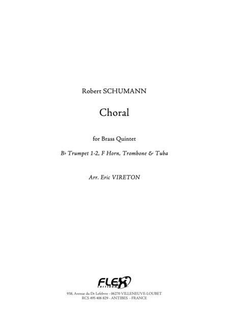 Choral - from Album for the Young, Op. 68, No. 4