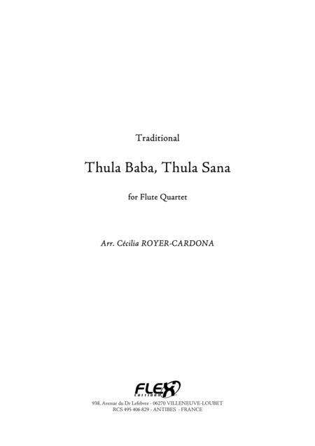 Thula Baba, Thula Sana