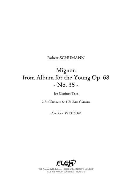 Mignon from Album for the Young Op. 68, No. 35