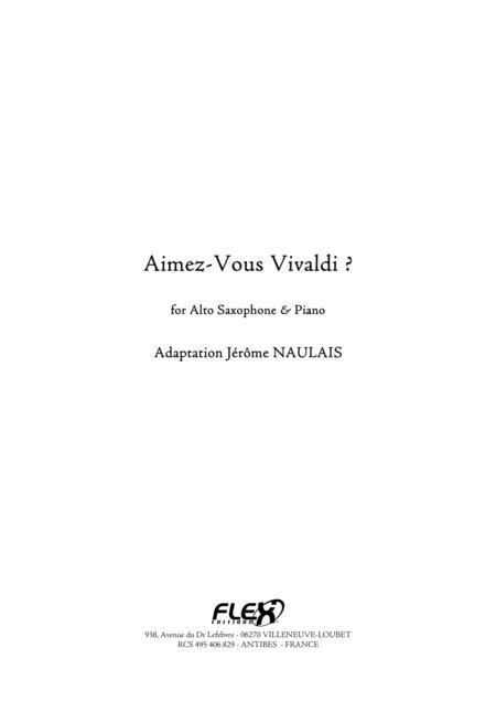 Aimez-Vous Vivaldi ?