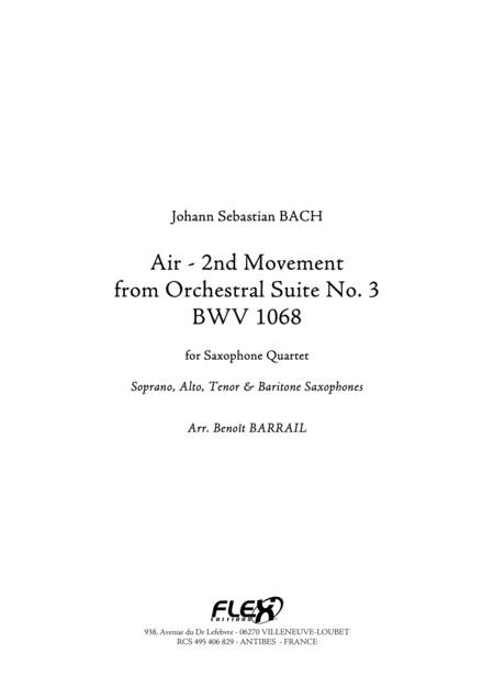 Air - 2nd Movement from Orchestral Suite No. 3 BWV 1068