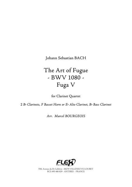 The Art of Fugue, BWV1080 Fuga V