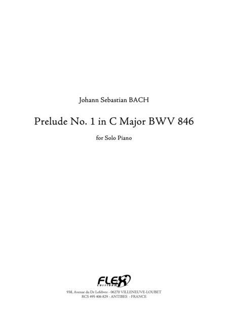 Prelude No.1 in C Major, BWV 846