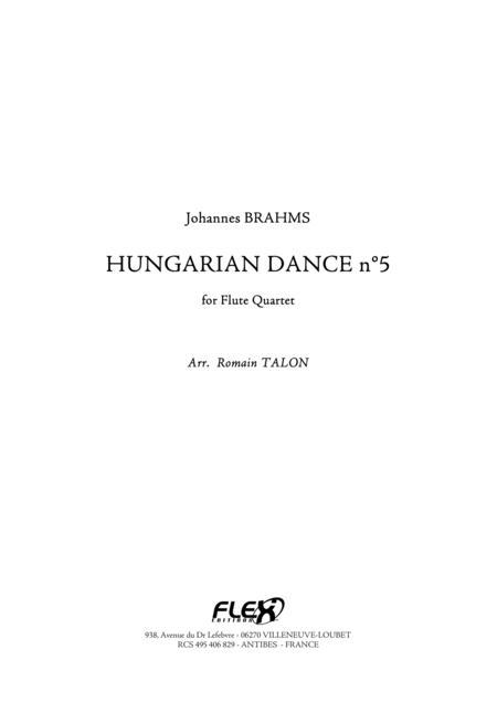 Hungarian Dance, No. 5