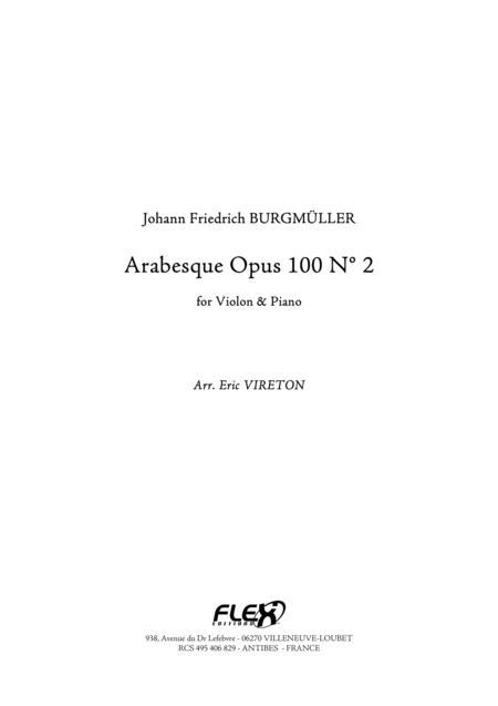 Arabesque, Op. 100, No. 2