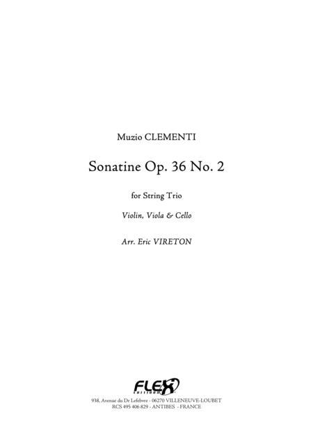 Sonatine Opus 36 No. 2