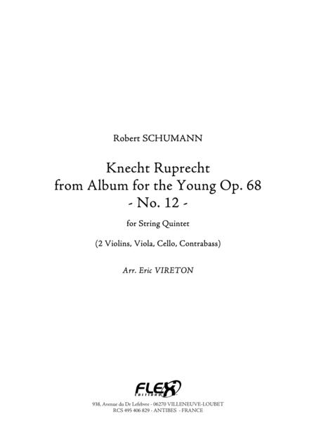 Knecht Ruprecht - from Album for the Young, Op. 68, No. 12