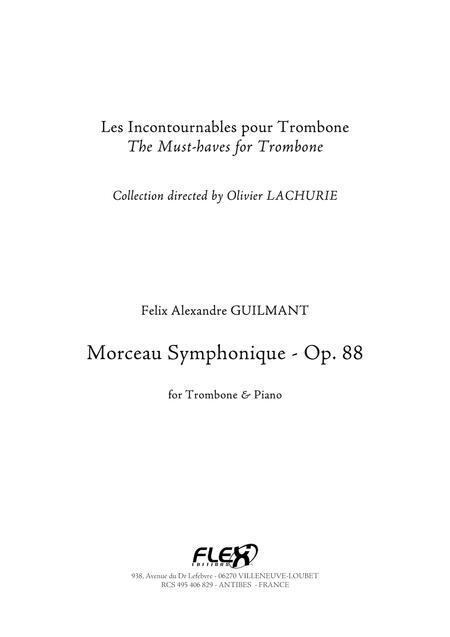 Morceau Symphonique - Concertpiece Opus 88