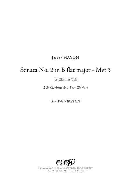 Sonata No. 2 in Bb Major - Movement 3