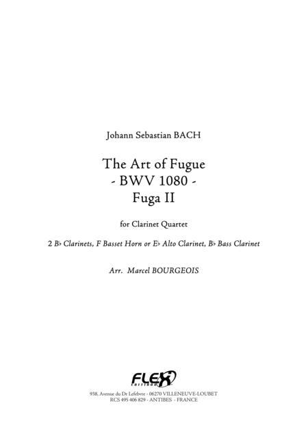 The Art of Fugue, BWV1080 Fuga II