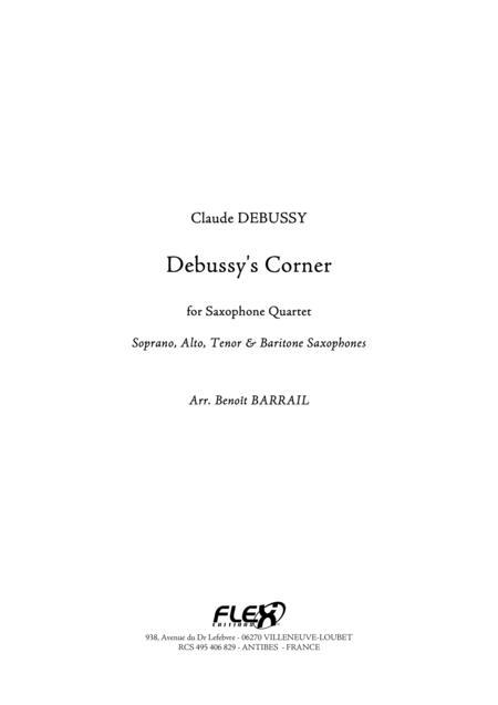Debussy's Corner pour Quatuor de Saxophones