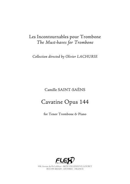 Cavatine Opus 144