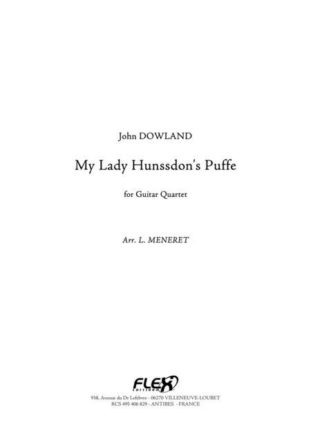 My Lady Hunssdon's Puffe