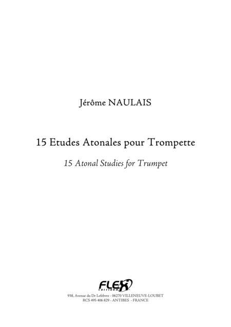 15 Atonal Studies for Trumpet