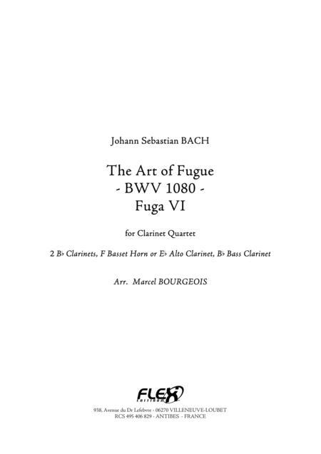 The Art of Fugue, BWV1080 Fuga VI
