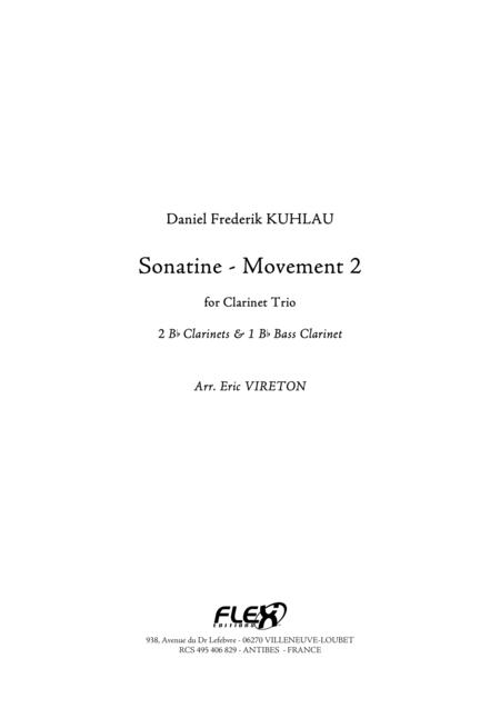 Sonatine - Movement 2