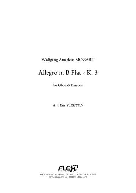 Allegro in B Flat